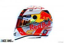 Max Verstappen helmet, 2019