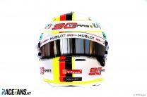 Sebastian Vettel helmet, 2019
