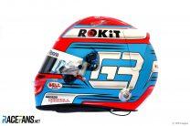 George Russell helmet, 2019