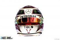 Lewis Hamilton helmet, 2019