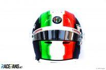 Antonio Giovinazzi helmet, 2019