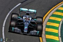 Hamilton leads Mercedes one-two, eight-tenths ahead