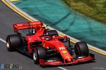 Ferrari ordered Leclerc to stay behind Vettel