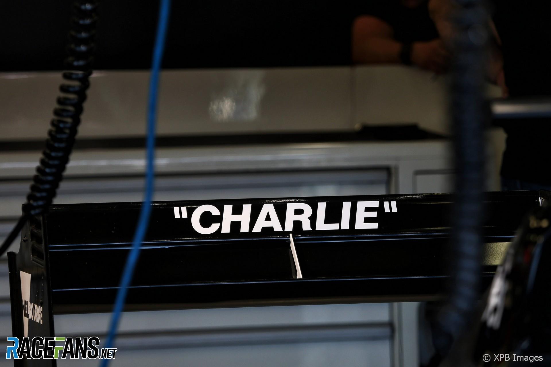 Charlie Whiting tribute, Albert Park, 2019