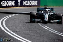 Hamilton completes practice sweep in Melbourne