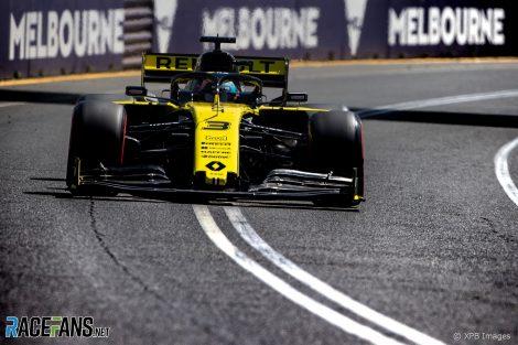 Daniel Ricciardo, Renault, Albert Park, 2019