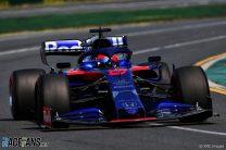 Daniil Kvyat, Toro Rosso, Albert Park, 2019