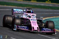 Sergio Perez, Racing Point, Albert Park, 2019