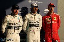 Valtteri Bottas, Lewis Hamilton, Sebastian Vettel, Albert Park, 2019