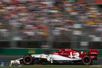 Kimi Raikkonen, Alfa Romeo, Albert Park, 2019