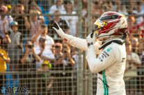 Hamilton takes sixth consecutive Australian GP pole