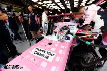 Tribute to Charlie Whiting, Sergio Perez, Racing Point, Meloburne, 2019