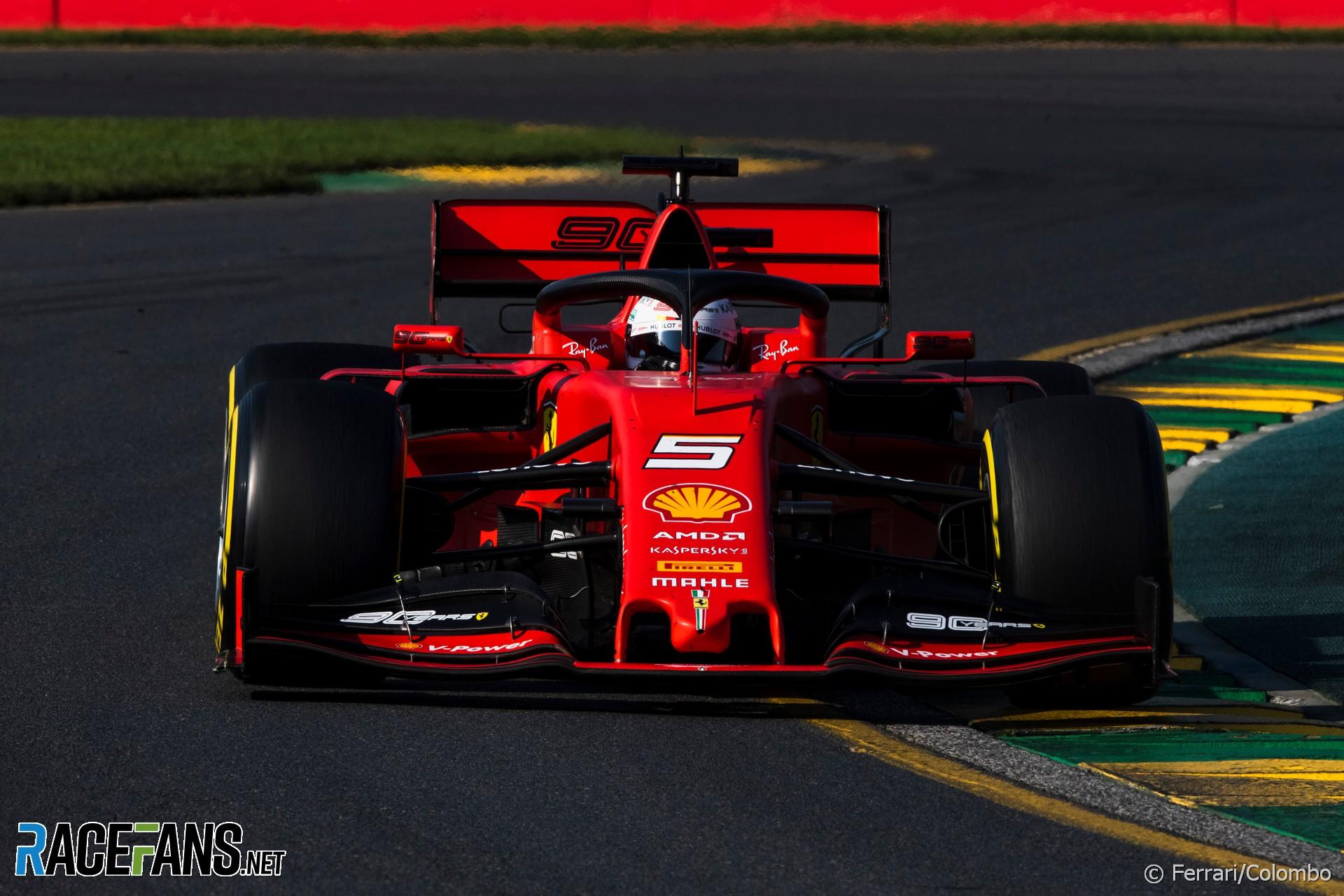 What Went Wrong At Ferrari 2019 Australian Gp F1 Tech Racefans