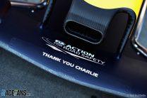 Charlie Whiting tribute, Red Bull, Albert Park, 2019