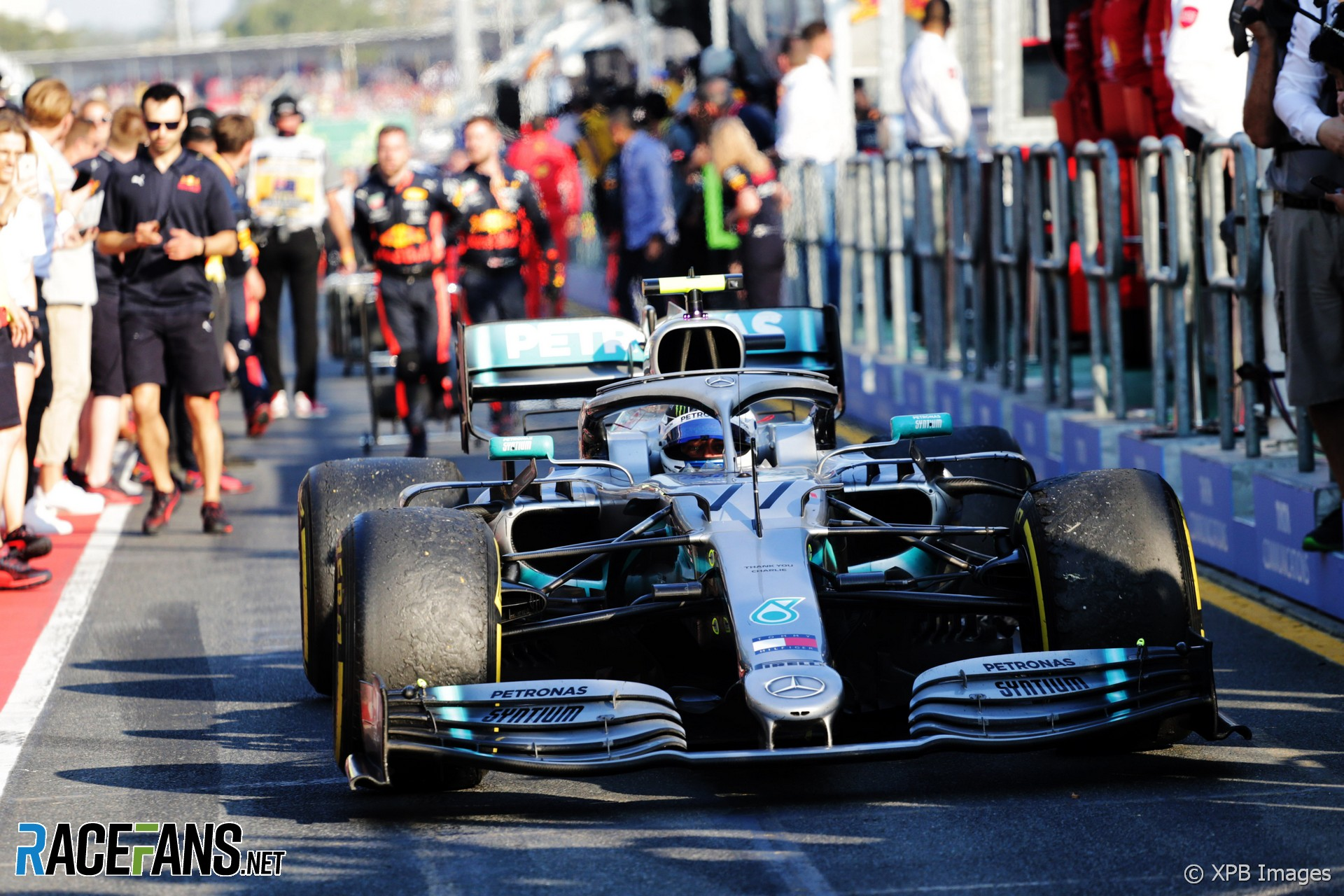 Valtteri Bottas, Mercedes, Albert Park, 2019