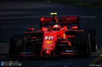 Charles Leclerc, Ferrari, Albert Park, 2019