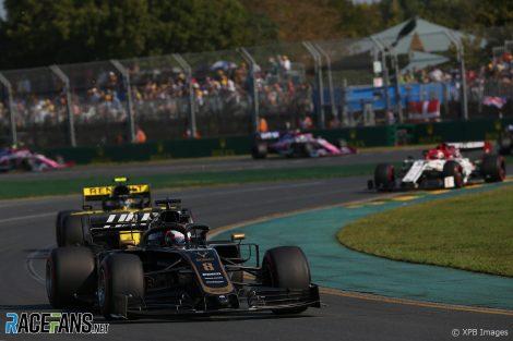 Romain Grosjean, Haas, Melbourne, 2019