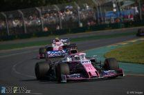 Sergio Perez, Racing Point, Melbourne, 2019
