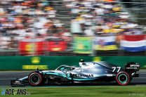 Hamilton and Bottas were told not to push for fastest lap