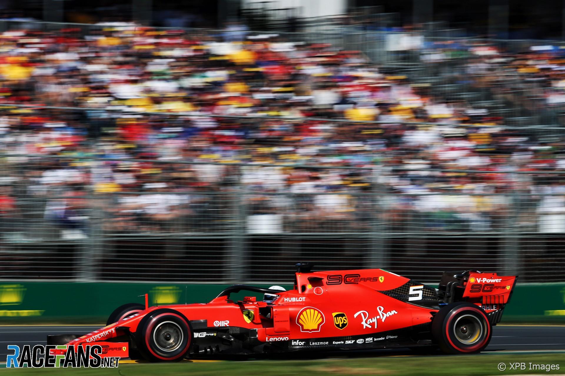Sebastian Vettel Ferrari Albert Park 2019 183 Racefans