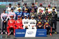 F1 drivers, Albert Park, 2019