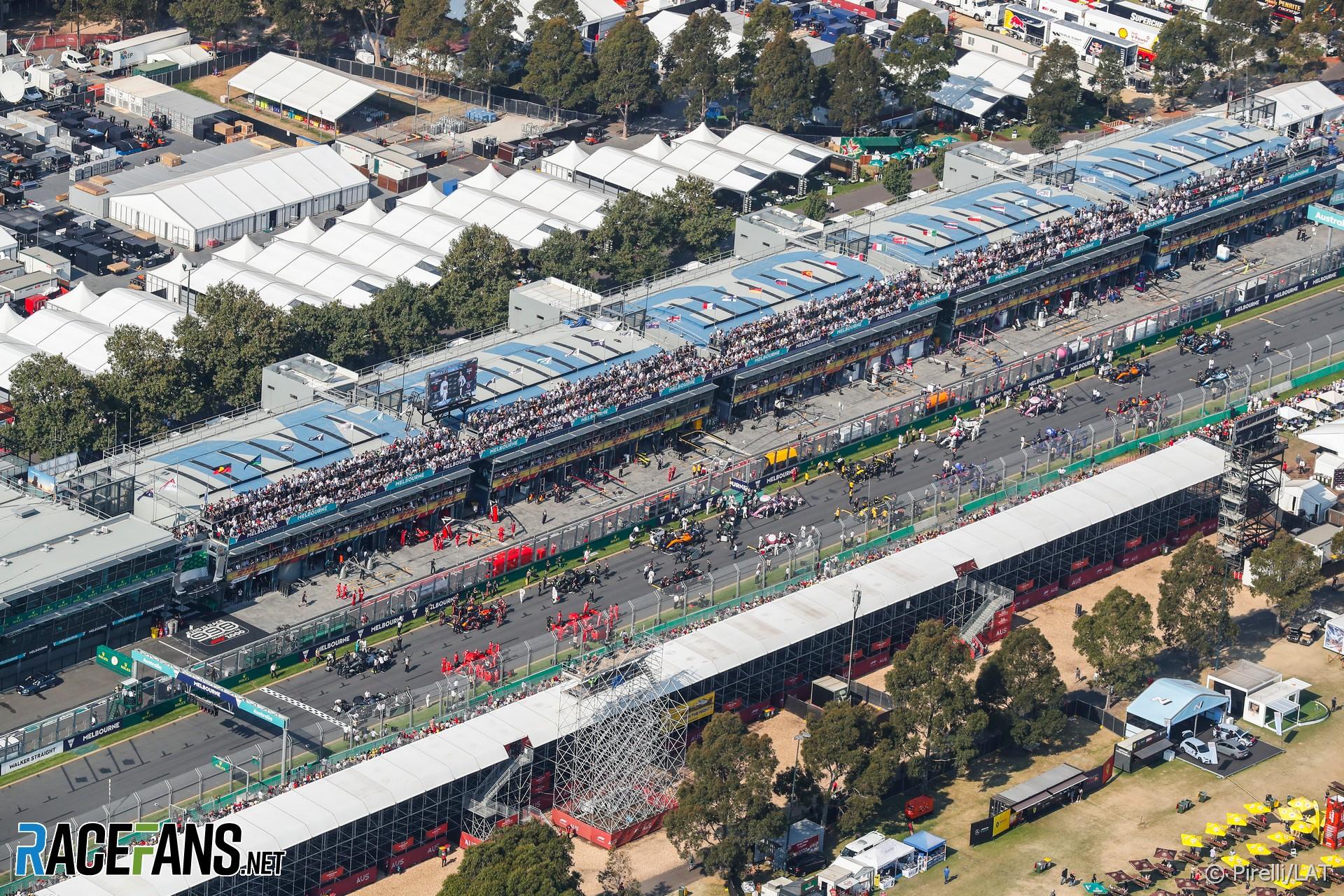 Grid, Albert Park, Melbourne, 2019