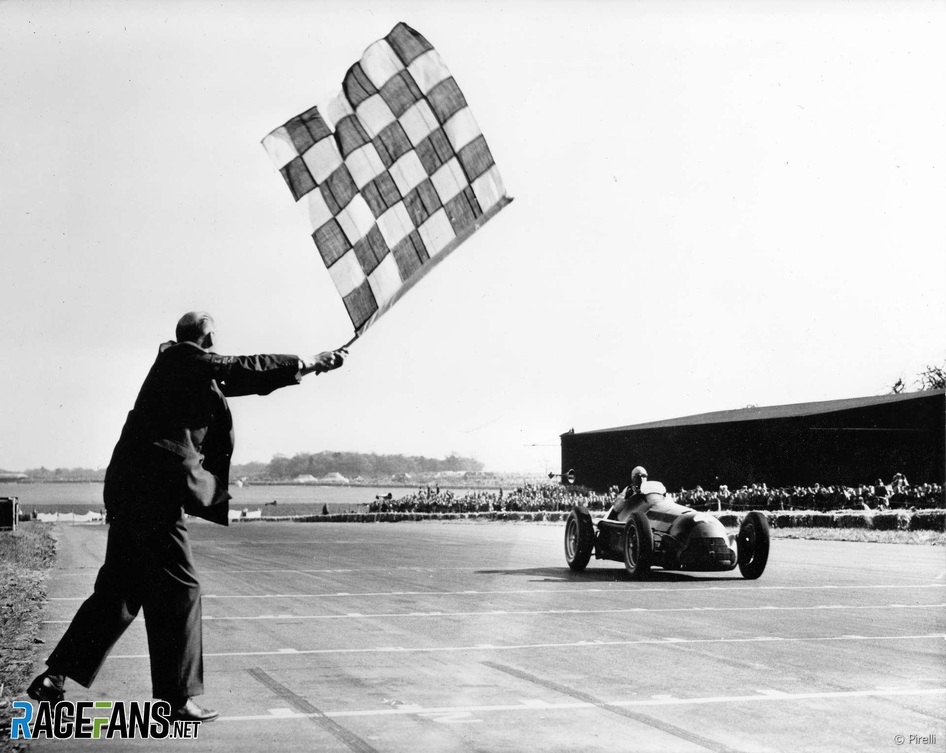 Giuseppe Farina, Alfa Romeo, Silverstone, 1950