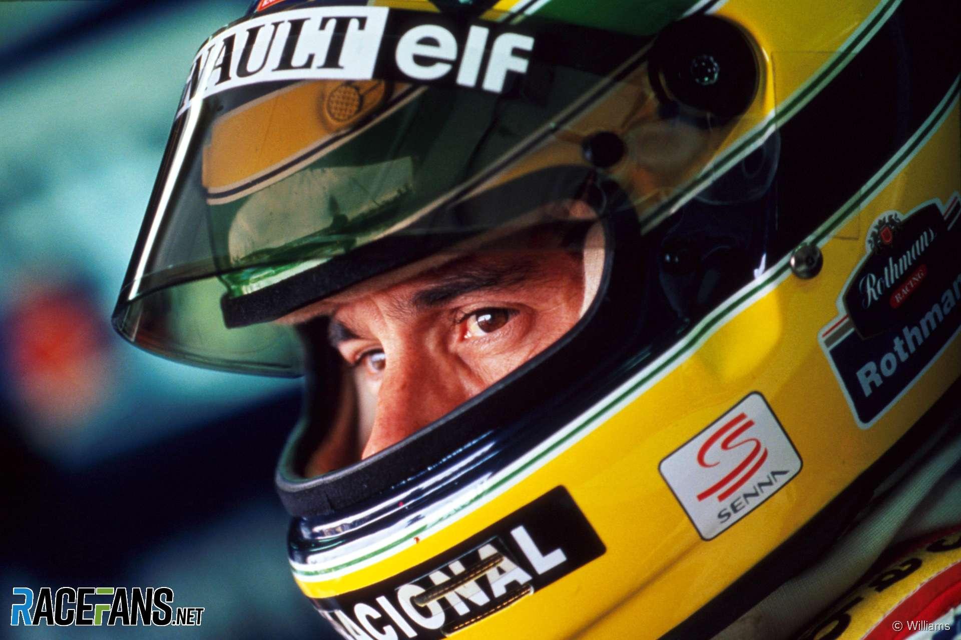 Ayrton Senna, Williams, Imola, 1994
