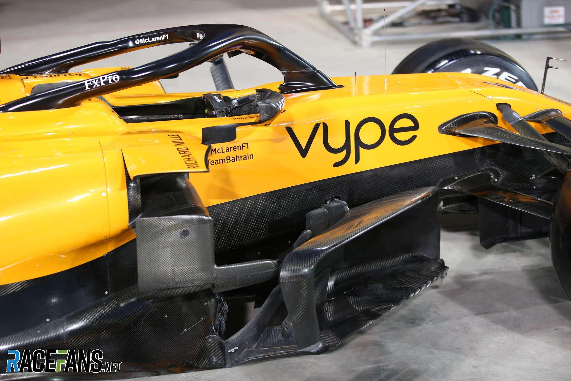 McLaren, Bahrain, 2019