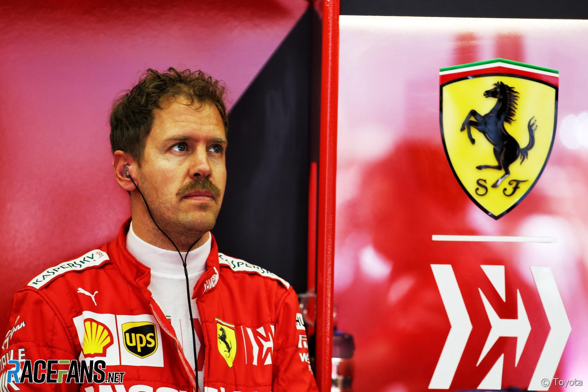 Sebastian Vettel, Ferrari, Bahrain International Circuit, 2019