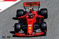 Leclerc keeps Ferrari on top in final practice