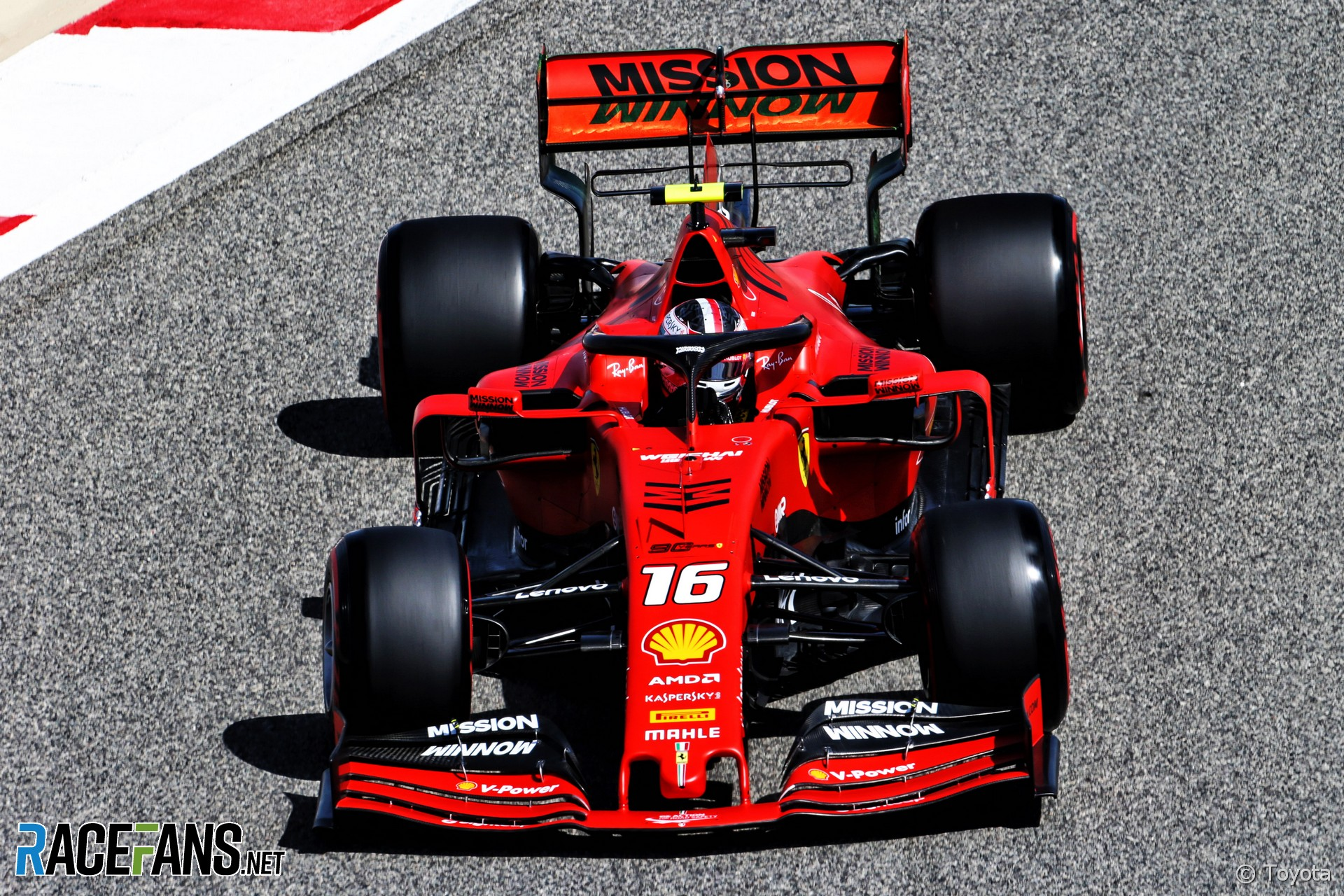 Leclerc leads emphatic Ferrari one-two in first practice | 2019 Bahrain Grand Prix first practice