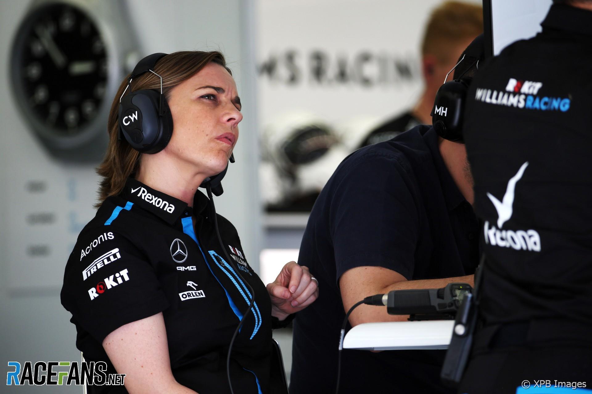 Claire Williams, Bahrain International Circuit, 2019