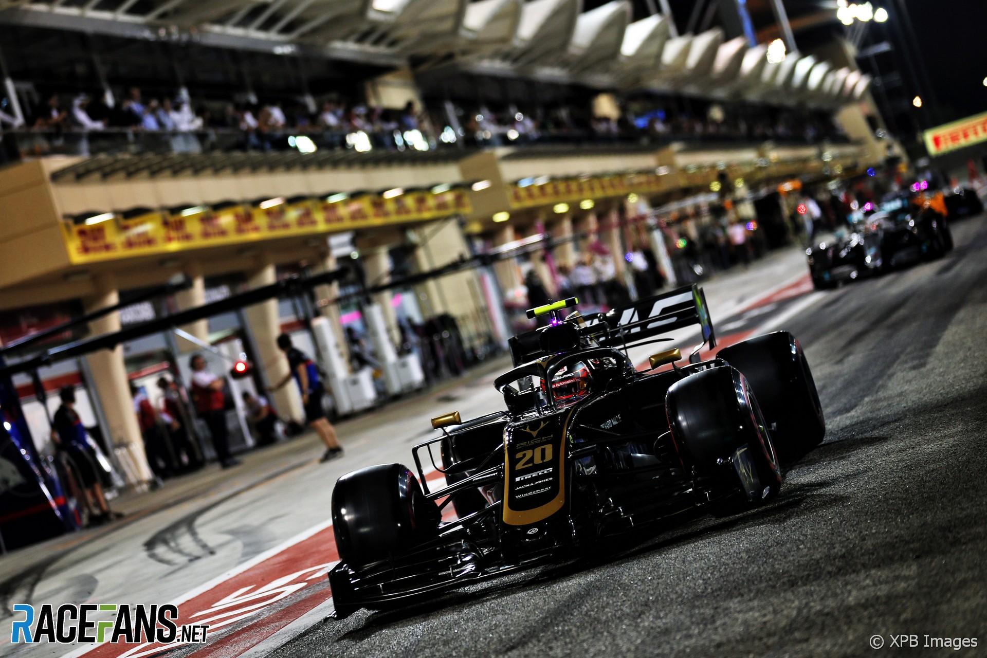 Kevin Magnussen, Haas, Bahrain International Circuit, 2019