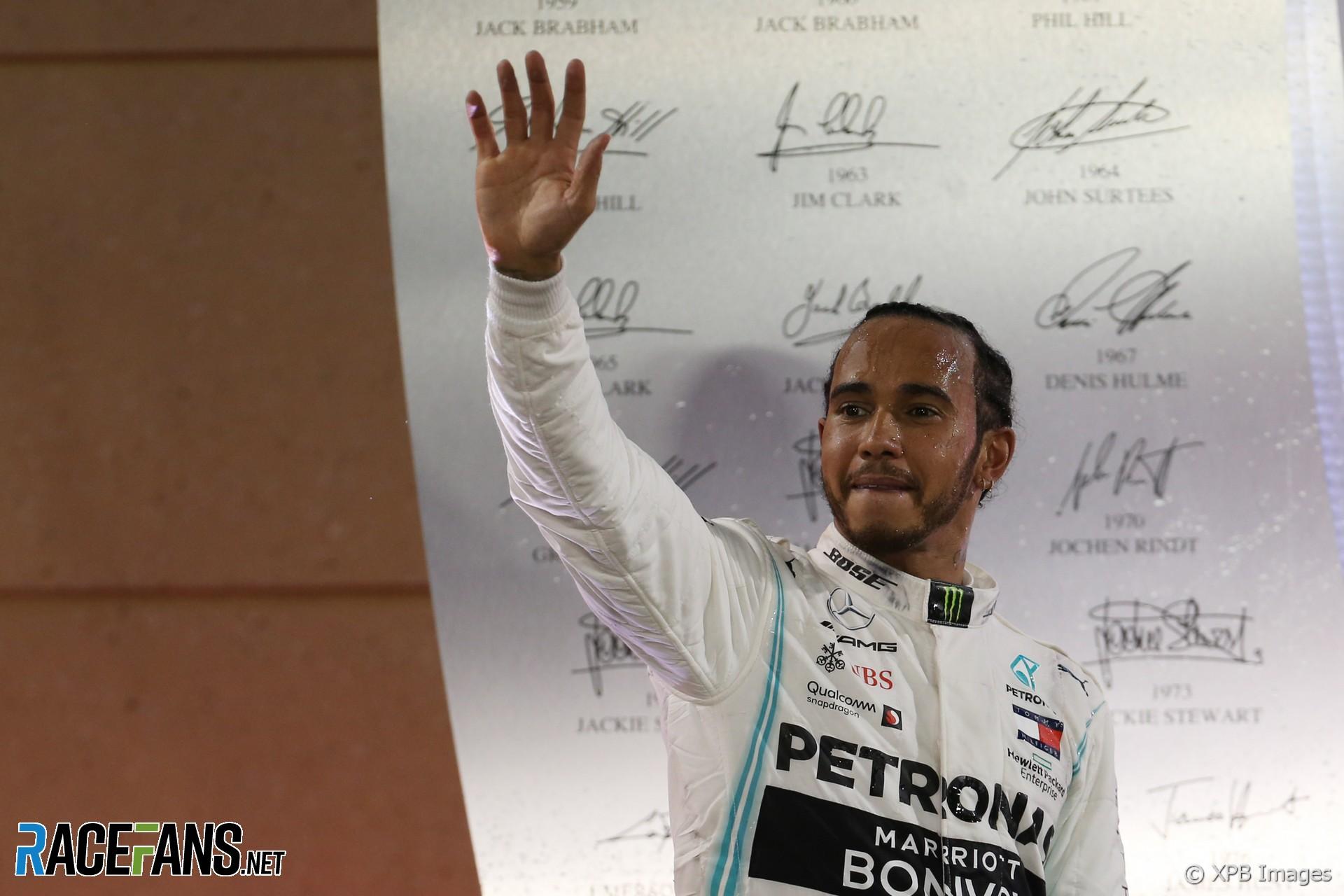 Lewis Hamilton, Mercedes, Bahrain International Circuit, 2019