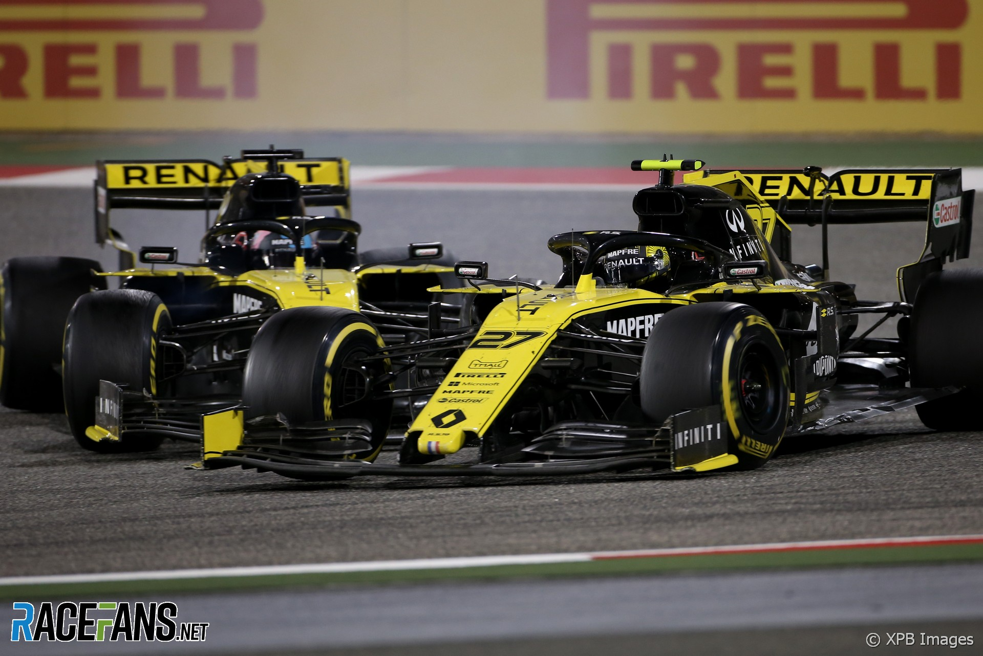 Nico Hulkenberg, Renault, Bahrain International Circuit, 2019
