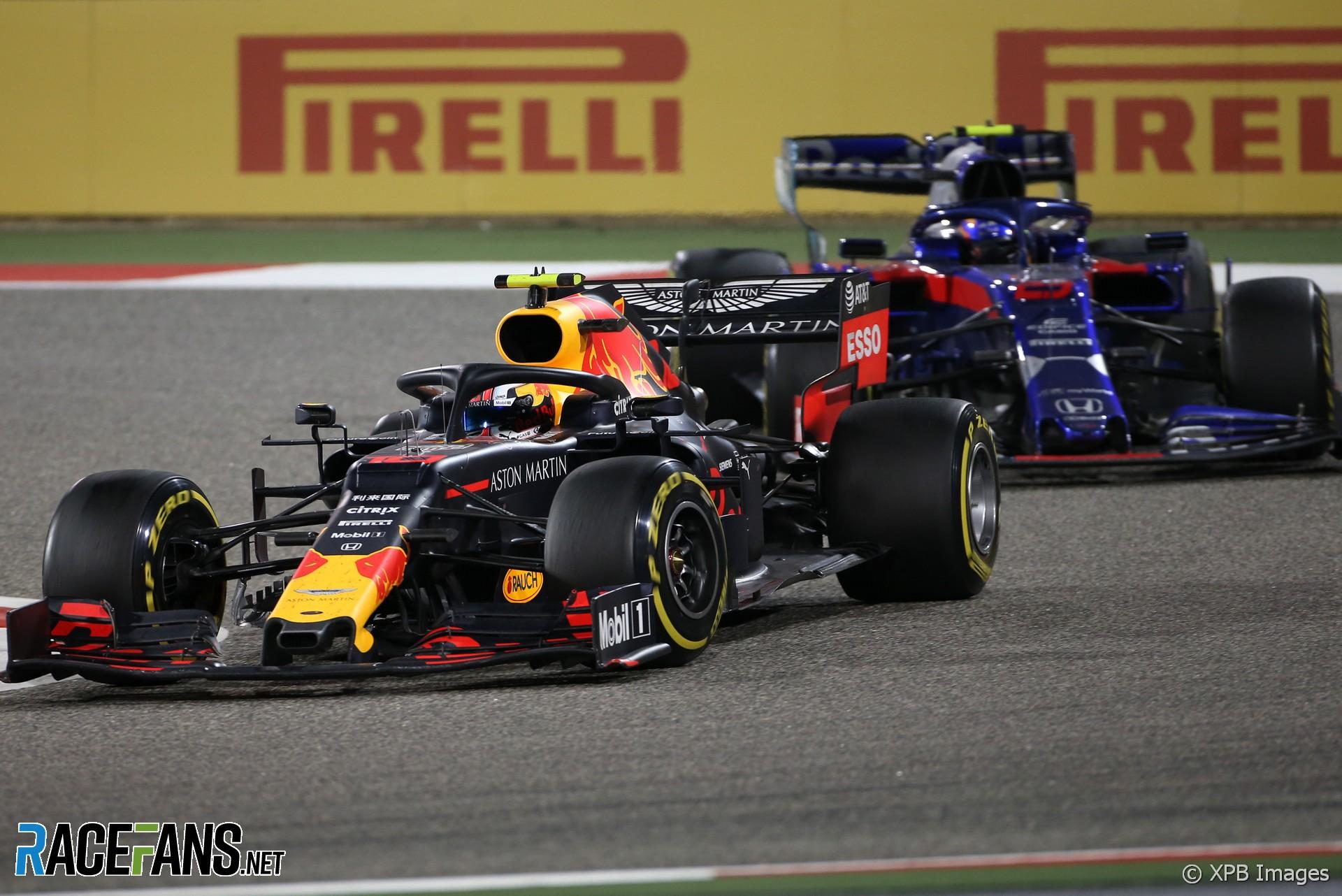 Pierre Gasly, Red Bull, Bahrain International Circuit, 2019