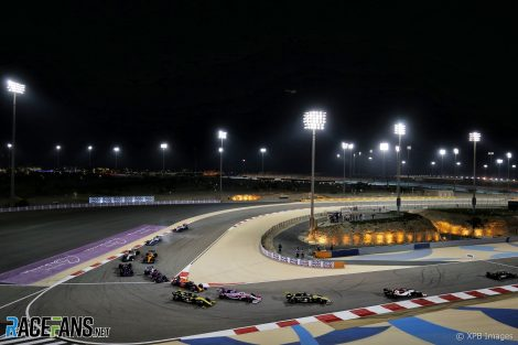 Start, Bahrain International Circuit, 2019