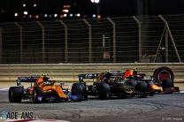 """Norris thinks he was """"a bit soft"""" in Bahrain despite taking sixth"""