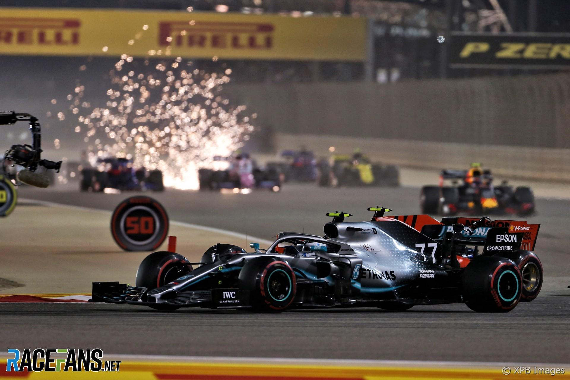 Start, Bahrain International Circuit, 2019