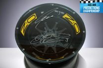 Win a Renault F1 wheel table signed by Ricciardo and Hulkenberg