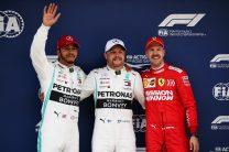Bottas denies Hamilton pole for 1,000th championship round
