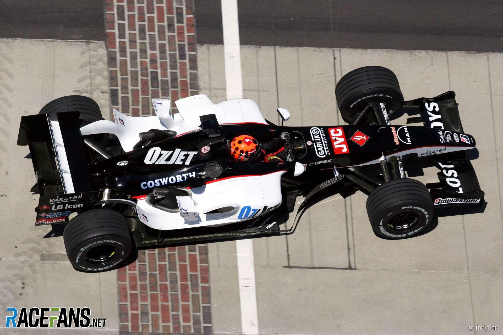 Christijan Albers, Minardi, Indianapolis, 2005
