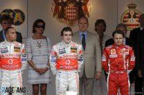 Lewis Hamilton, Fernando Alonso, Felipe Massa, Monaco, 2007