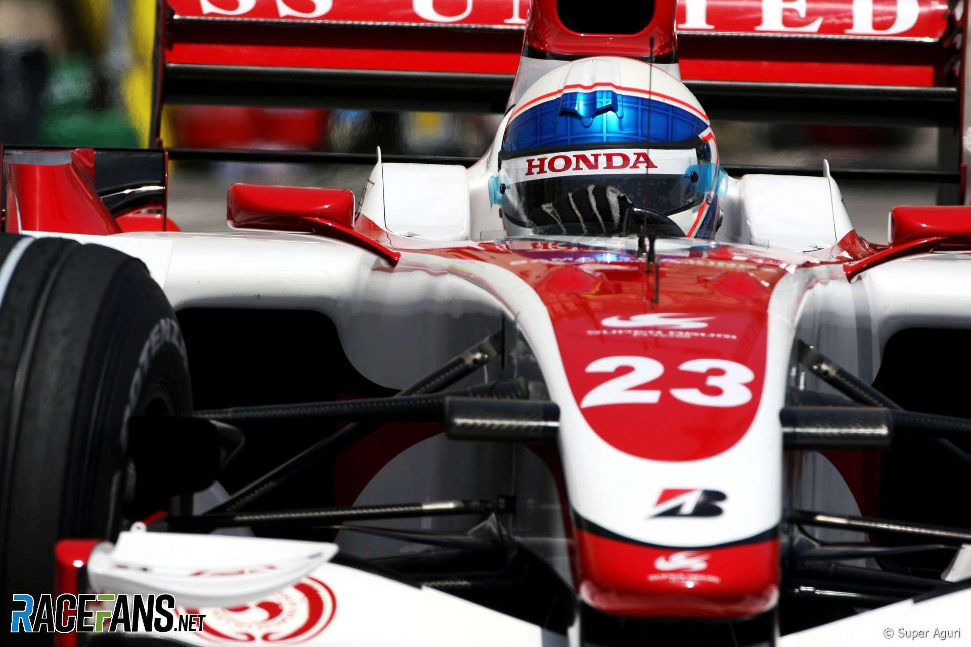 Anthony Davidson, Super Aguri, Monte-Carlo, Monaco, 2007