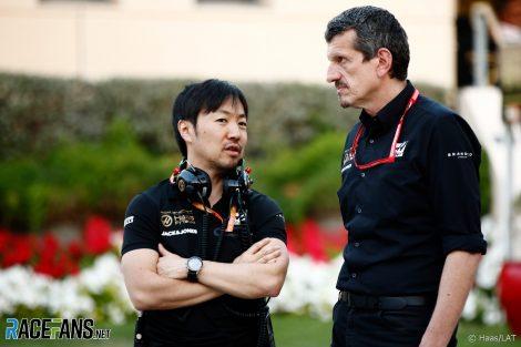 Ayao Komatsu, Guenther Steiner, Bahrain International Circuit, 2019