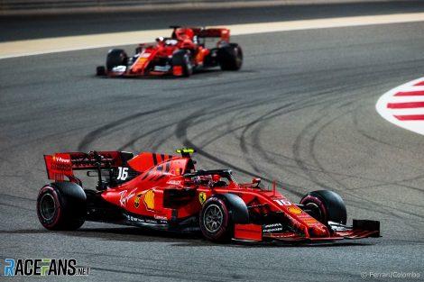 Charles Leclerc, Ferrari, Bahrain International Circuit, 2019