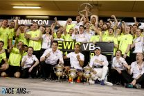 Mercedes start season with back-to-back one-twos for the first time