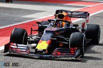 Verstappen leads Schumacher as rain disrupts Bahrain test