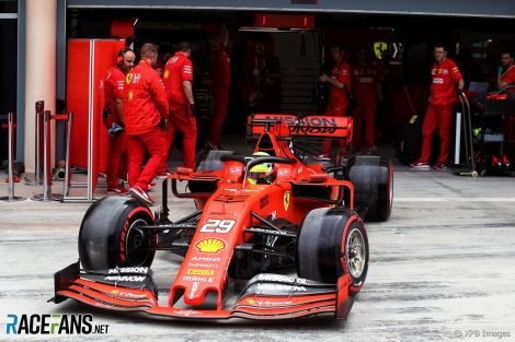 Mick Schumacher, Ferrari, Bahrain International Circuit